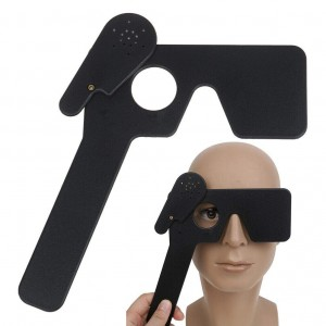 Lorgnette Occluder With Multi 17 Pinholes Hand Held Occluder