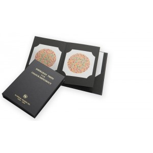 Ishihara Colour Vision Test Book for Color Deficiency 38 Plates With User Manual (Latest Version )