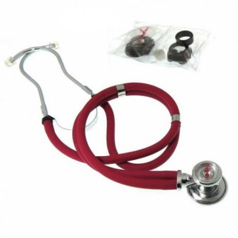 Rappaport Dual Head Stethoscope With Adult, Pediatric, And Infant Convertible Chest-piece