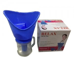 Relax 3 In 1 Steam Vaporizer Nose Steamer, Cough Steamer Inhalation (Medical device) Protected