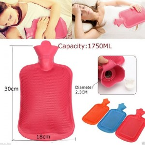 Rubber Bottle Cold and Hot Water Bag Body Heat Massage Pain Relaxing Treatment